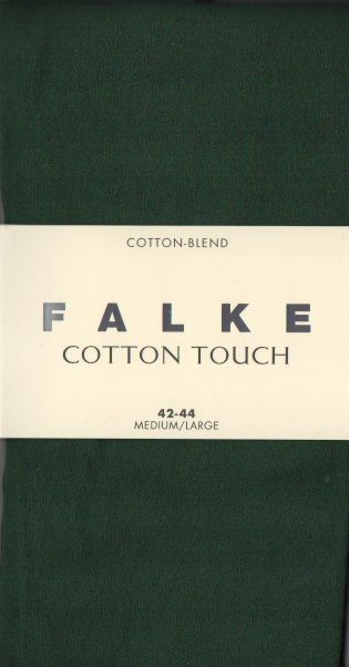 Cotton Blend tights by Falke -  Eucalyptus 40081/7502